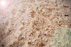 Milieux de fusée de sable Photographie stock