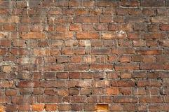 Milieux de mur de briques Image libre de droits
