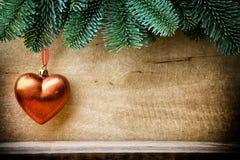 Milieux de Noël Photo libre de droits