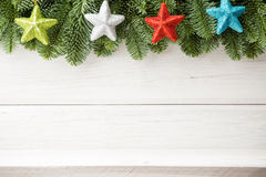 Milieux de Noël. Photos stock