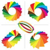 Milieux de palette de guide de couleur Photos libres de droits