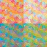 Milieux de polygone Photo libre de droits