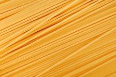 Milieux de spaghetti. État cru Images stock