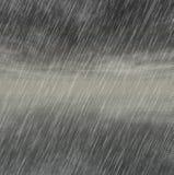 Milieux de tempête de pluie par temps nuageux Images stock