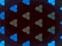 Milieux de texture de modèle de kaléidoscope image stock