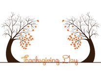 Milieux de thanksgiving Photo stock
