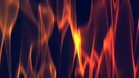 Milieux de vagues du feu rouge illustration libre de droits