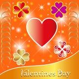 Milieux de valentines. Images stock