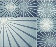 Milieux de vecteur de rayon de soleil Photos libres de droits