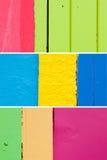 Milieux des Caraïbes 1 de mur de couleur Photo stock