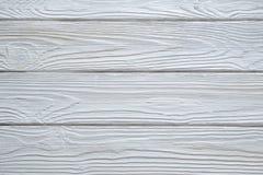 Milieux en bois blancs de texture photos stock
