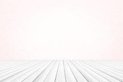 Milieux en bois blancs de texture Photo stock