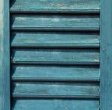 Milieux en bois de volet - abat-jour Photographie stock libre de droits
