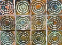 Milieux en céramique de texture de mur de brique Photos libres de droits