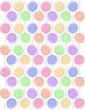 Milieux en pastel de lucettes Images stock