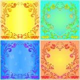 Milieux floraux abstraits Photos libres de droits