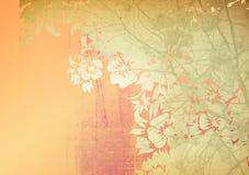 Milieux floraux de type illustration stock