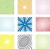 Milieux géométriques Photo libre de droits