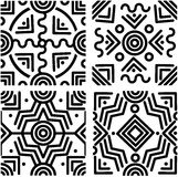 Milieux géométriques sans couture Photos stock