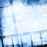 Milieux grunges de bande de film Photo libre de droits