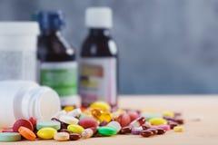 Milieux médicaux abstraits Images stock