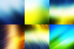 Milieux modernes colorés image stock