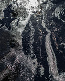 Milieux noirs Image stock