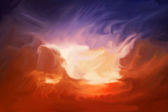 Milieux peints par Digital d'abrégé sur texture illustration stock