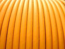 Milieux, plan rapproché, bobine de fils électriques Photographie stock libre de droits