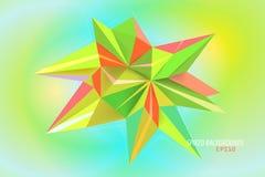 Milieux pointus de couleurs Photos libres de droits