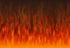 Milieux rouges de texture du feu de flamme Photographie stock libre de droits