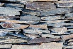 Milieux texturisés lapidés naturels rouillés, bruns, gris, rayés Photographie stock