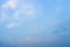 Milieux troubles abstraits bleus Photographie stock libre de droits