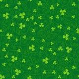 Milieux verts de trèfle Image libre de droits
