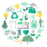 Milieuzorg Vectorbeeld Stock Foto