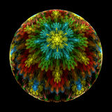 Milifiori crystal paperweight Stock Photography