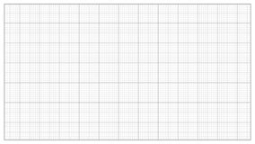 Milimetru Papierowy wektor charcica Graphing papier Dla Konstruować, edukacja, Rysuje projekty Wykres siatki papieru miara ilustracji