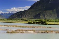 milin Тибет 14 ландшафтов Стоковая Фотография RF