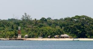 Milion Dolarowych punktów, Luganville, Vanuatu zdjęcia stock