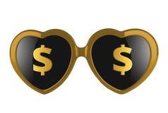 Milione amori del dollaro Fotografia Stock Libera da Diritti
