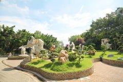 Milione anni di parco di pietra, Pattaya Tailandia 05-May-2013 Fotografia Stock