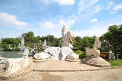 Milione anni di parco di pietra, Pattaya Tailandia 05-May-2013 Immagine Stock Libera da Diritti