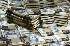 Milione dollari Fotografia Stock