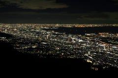 10 milione dollari di vista di notte di Kobe Fotografia Stock