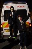 Milione maschere marzo a Londra Immagini Stock