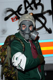 Milione maschere marzo a Londra Fotografie Stock Libere da Diritti