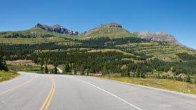 Milione strade principali del dollaro al passaggio dei Molas, Colorado Fotografia Stock