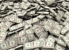 Miliony dolary obrazy royalty free