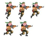 Milis som hoppar Sprite Royaltyfria Foton
