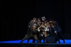 """Militär översikt-Peking opera som """"Taking Tiger Montain By Strategyâ € Royaltyfri Foto"""